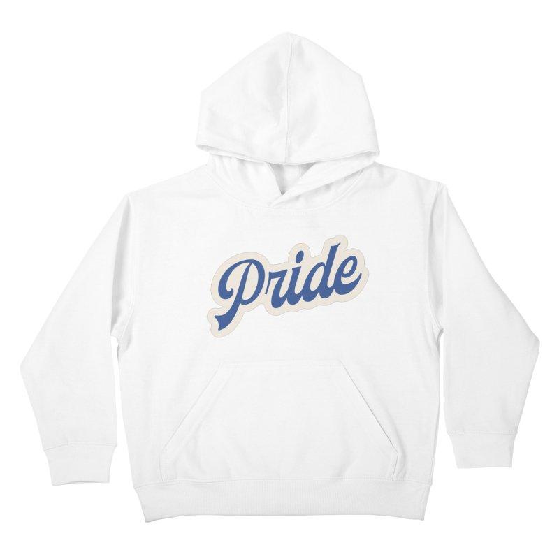 Script Pride Kids Pullover Hoody by Shop Sandusky Ink & Cloth
