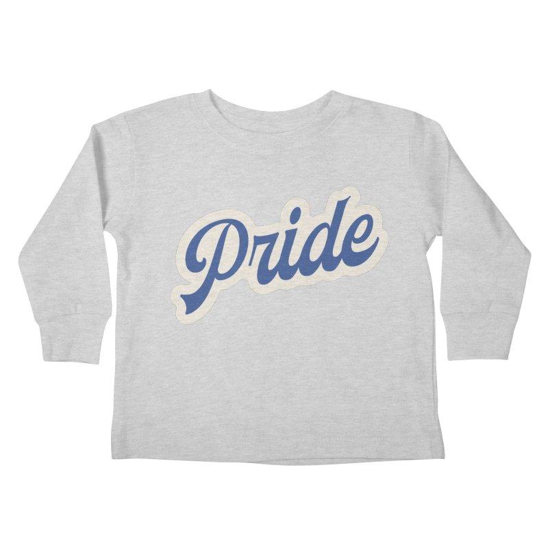 Script Pride Kids Toddler Longsleeve T-Shirt by Shop Sandusky Ink & Cloth