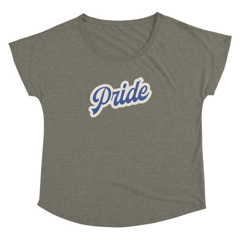 Script Pride Women's Dolman Scoop Neck by Shop Sandusky Ink & Cloth