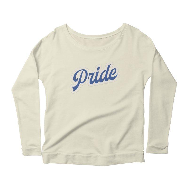 Script Pride Women's Scoop Neck Longsleeve T-Shirt by Shop Sandusky Ink & Cloth