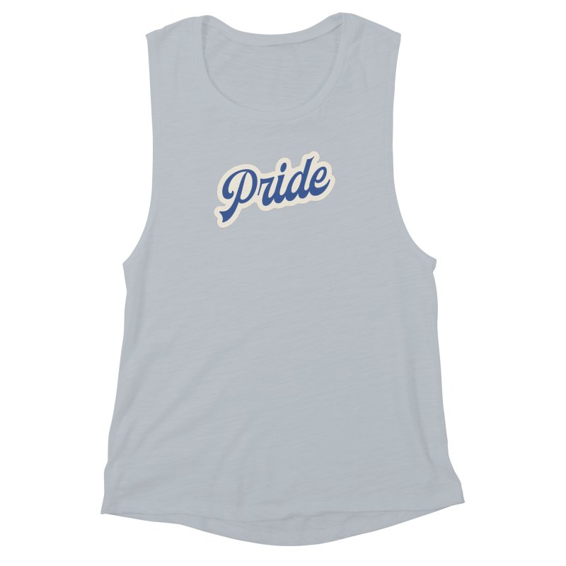 Script Pride Women's Muscle Tank by Shop Sandusky Ink & Cloth