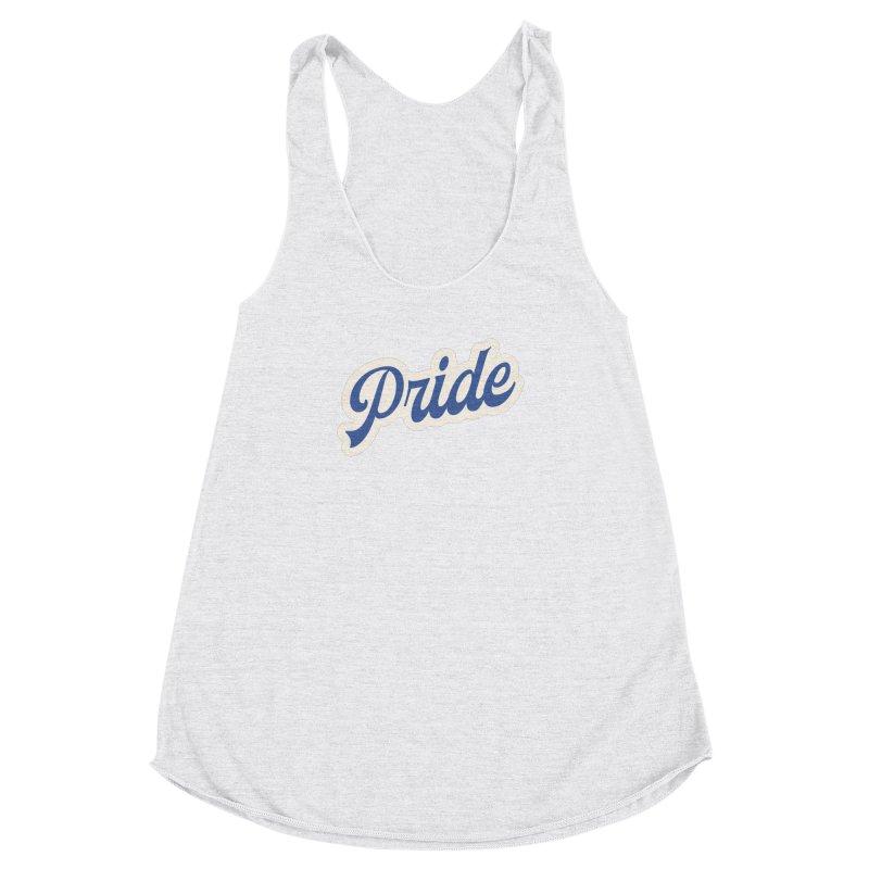Script Pride Women's Racerback Triblend Tank by Shop Sandusky Ink & Cloth