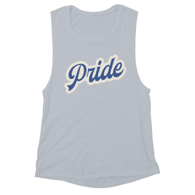 Script Pride Women's Muscle Tank by Shop Sandusky Ink & Cloth