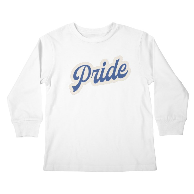 Script Pride Kids Longsleeve T-Shirt by Shop Sandusky Ink & Cloth