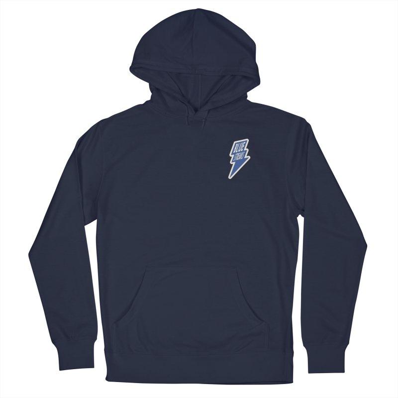 Blue Streaks Lightning Bolt Women's French Terry Pullover Hoody by Shop Sandusky Ink & Cloth