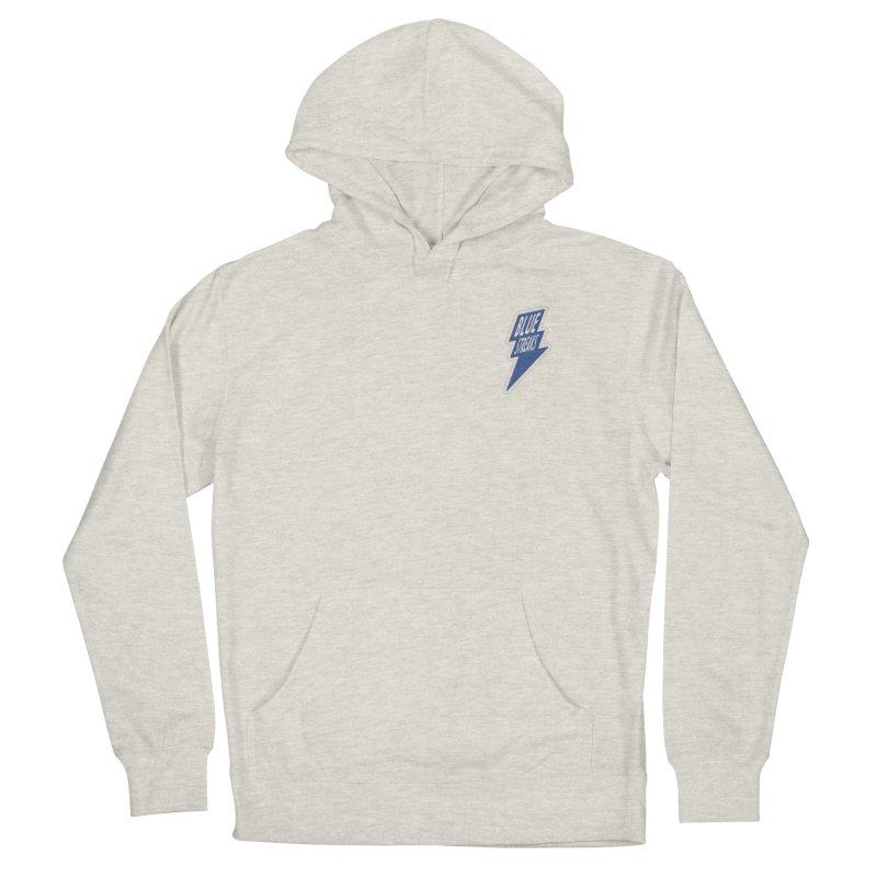 Blue Streaks Lightning Bolt Men's French Terry Pullover Hoody by Shop Sandusky Ink & Cloth