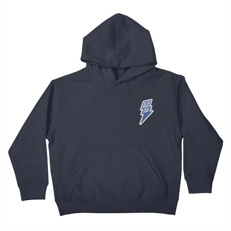 Blue Streaks Lightning Bolt Kids Pullover Hoody by Shop Sandusky Ink & Cloth