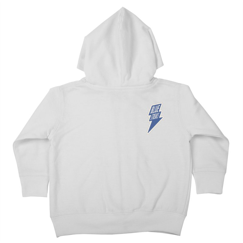 Blue Streaks Lightning Bolt Kids Toddler Zip-Up Hoody by Shop Sandusky Ink & Cloth