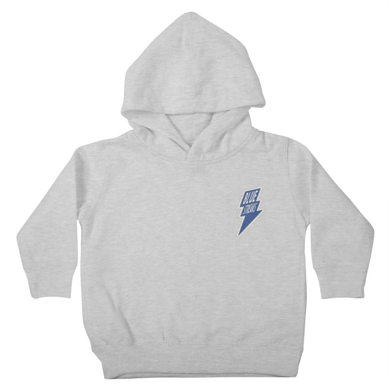 Blue Streaks Lightning Bolt Kids Toddler Pullover Hoody by Shop Sandusky Ink & Cloth