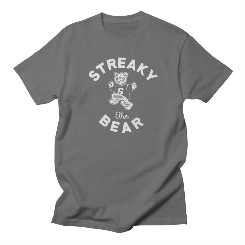 Streaky (the) Bear Women's Regular Unisex T-Shirt by Shop Sandusky Ink & Cloth