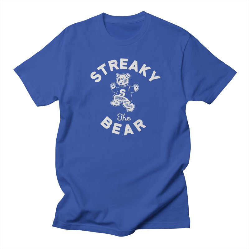 Streaky (the) Bear Men's Regular T-Shirt by Shop Sandusky Ink & Cloth