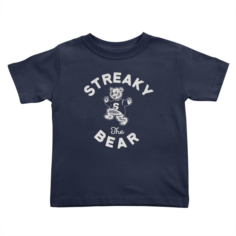 Streaky (the) Bear Kids Toddler T-Shirt by Shop Sandusky Ink & Cloth