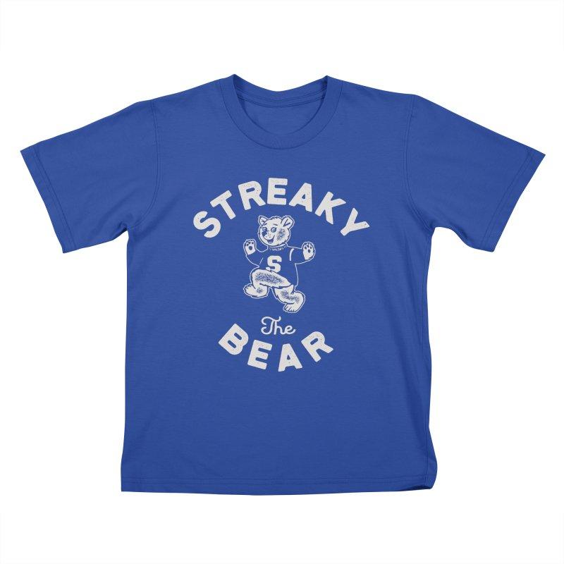 Streaky (the) Bear Kids T-Shirt by Shop Sandusky Ink & Cloth