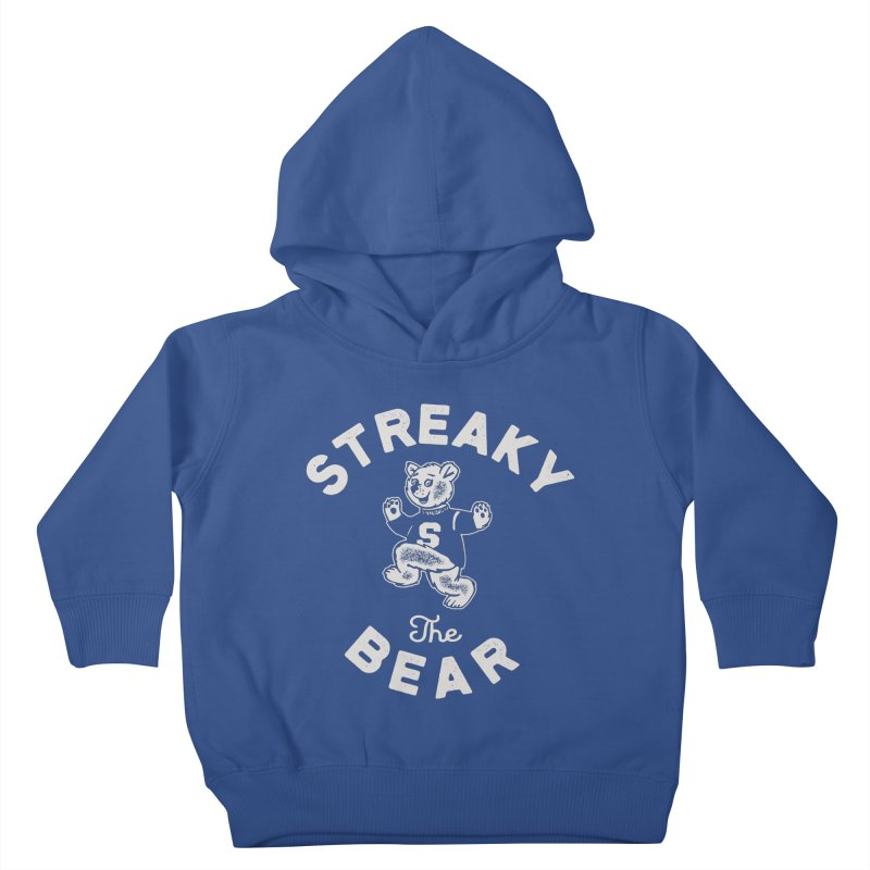 Streaky (the) Bear Kids Toddler Pullover Hoody by Shop Sandusky Ink & Cloth