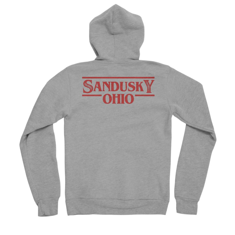 Stranger Sandusky Women's Sponge Fleece Zip-Up Hoody by Shop Sandusky Ink & Cloth