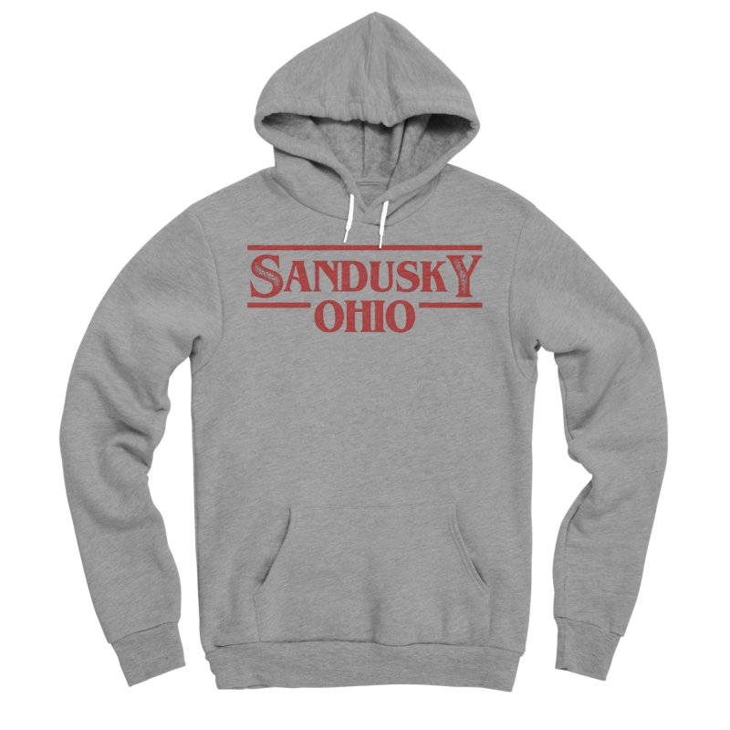 Stranger Sandusky Men's Sponge Fleece Pullover Hoody by Shop Sandusky Ink & Cloth