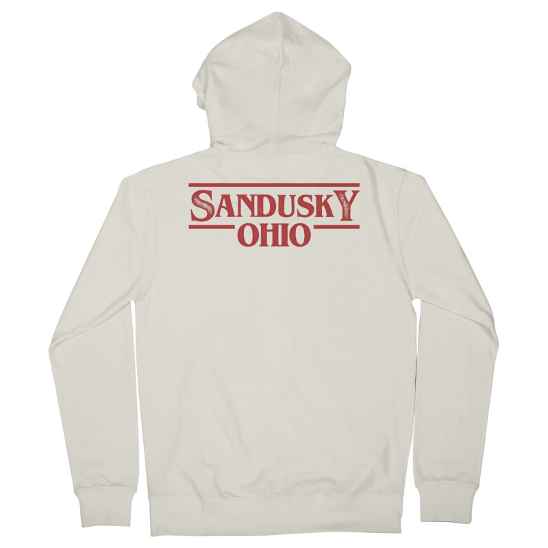 Stranger Sandusky Women's French Terry Zip-Up Hoody by Shop Sandusky Ink & Cloth
