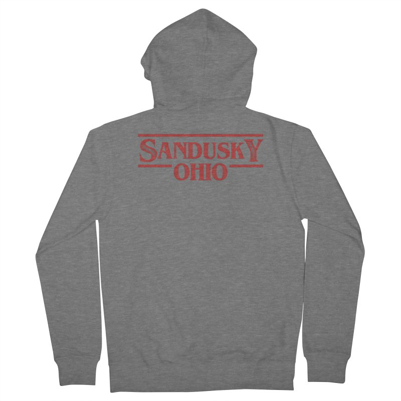 Stranger Sandusky Men's French Terry Zip-Up Hoody by Shop Sandusky Ink & Cloth