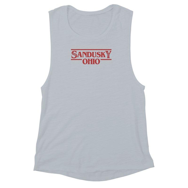 Stranger Sandusky Women's Muscle Tank by Shop Sandusky Ink & Cloth