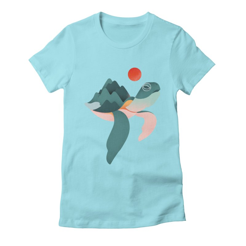 Archelon Women's Fitted T-Shirt by sandwich's Artist Shop