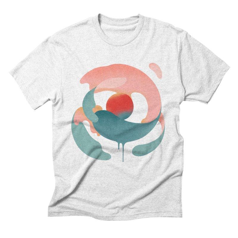 Under The Influence Men's Triblend T-shirt by sandwich's Artist Shop