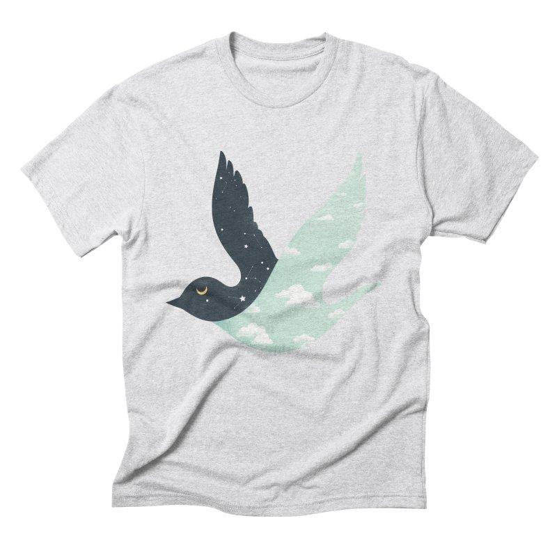 Bipolar Bird Men's Triblend T-Shirt by sandwich's Artist Shop