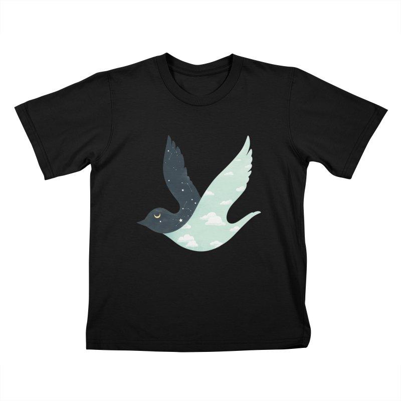 Bipolar Bird Kids T-shirt by sandwich's Artist Shop