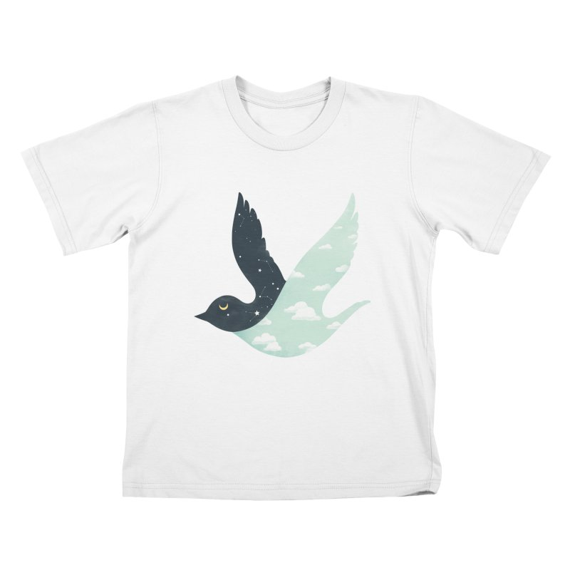 Bipolar Bird Kids T-Shirt by sandwich's Artist Shop