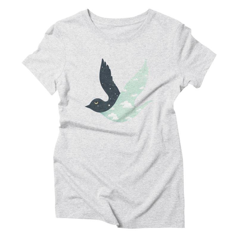 Bipolar Bird Women's Triblend T-Shirt by sandwich's Artist Shop