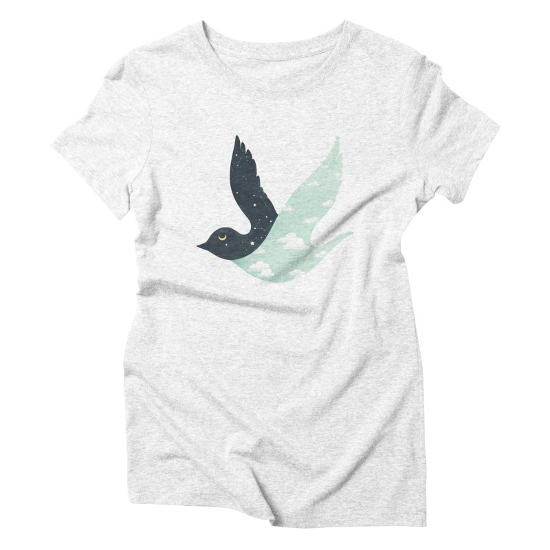 Bipolar Bird Women's Triblend T-shirt by sandwich's Artist Shop