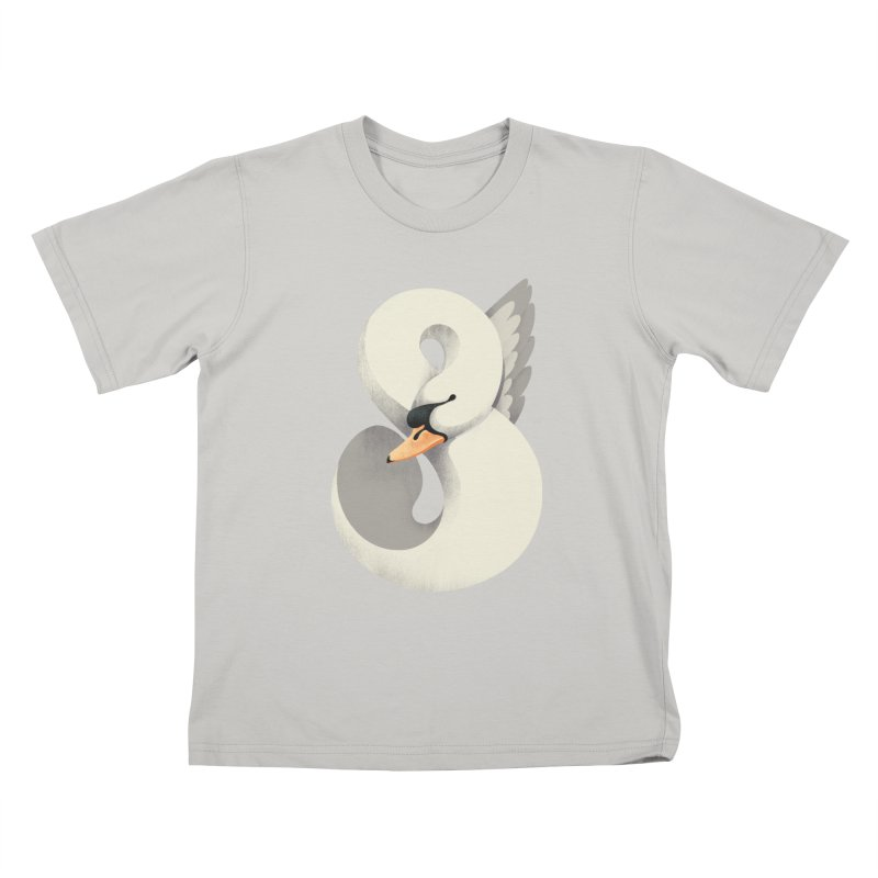 Untamed Elegance Kids T-Shirt by sandwich's Artist Shop