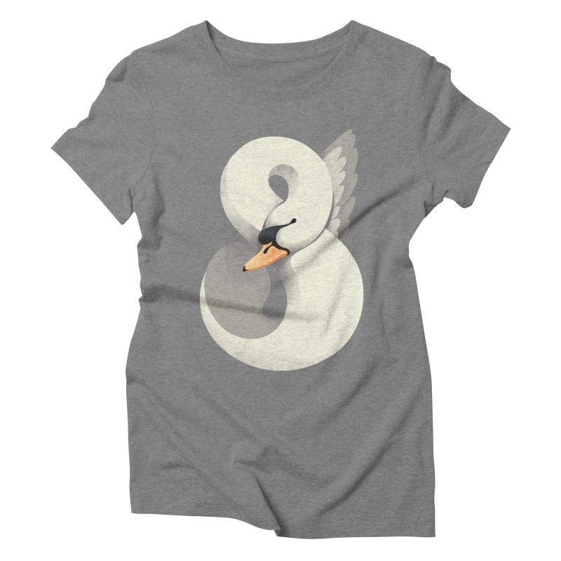 Untamed Elegance Women's Triblend T-Shirt by sandwich's Artist Shop