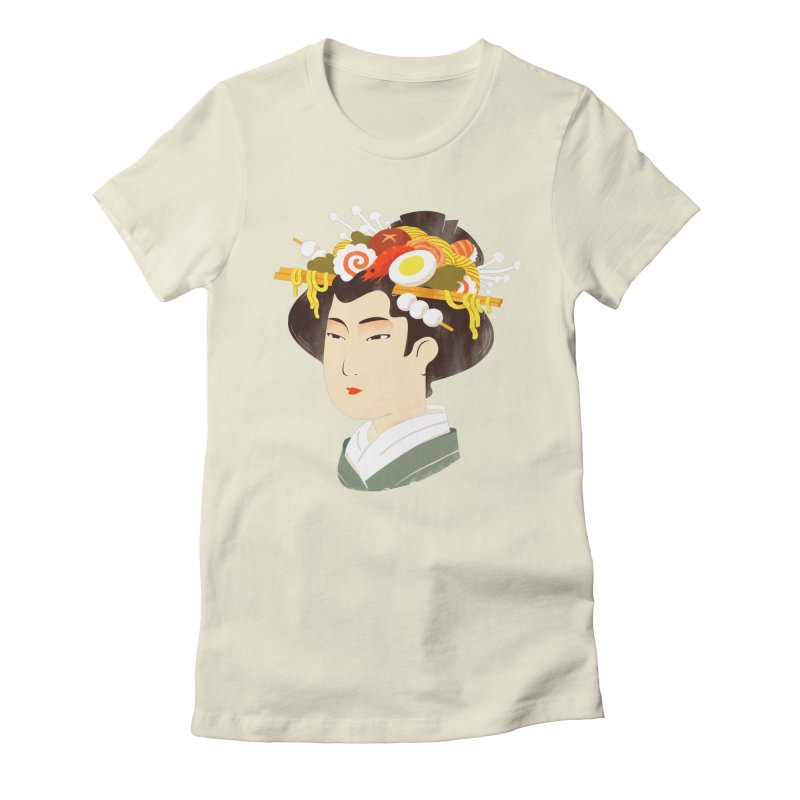 Japanese Delicacy Women's Fitted T-Shirt by sandwich's Artist Shop