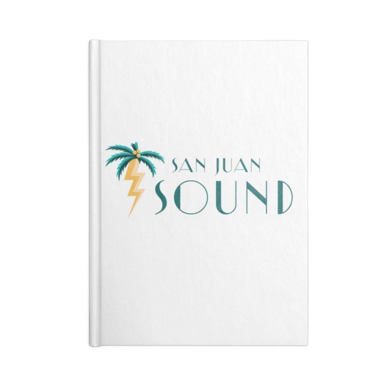 San Juan Sound Logo Accessories Notebook by San Juan Sound's Shop