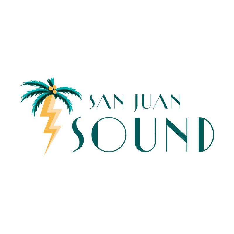 San Juan Sound Logo Accessories Bag by San Juan Sound's Shop