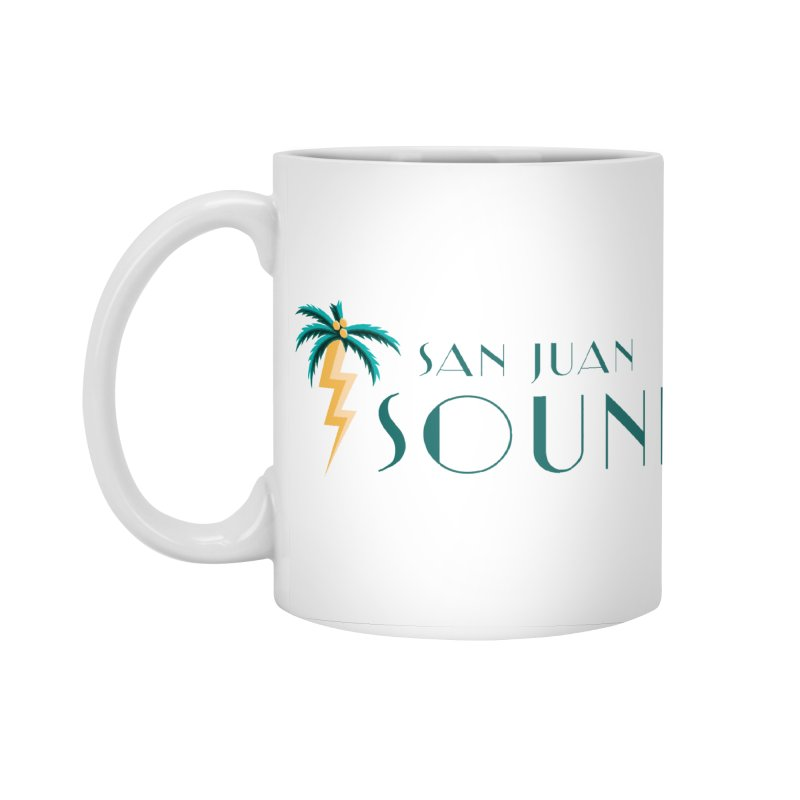 San Juan Sound Logo Accessories Standard Mug by San Juan Sound's Shop