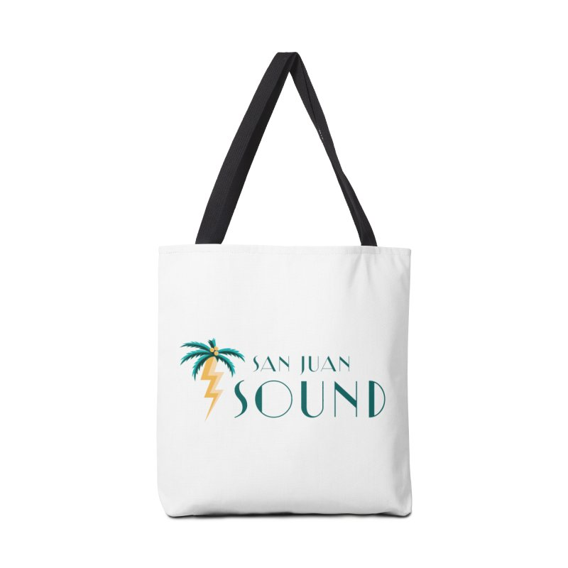 San Juan Sound Logo Accessories Tote Bag Bag by San Juan Sound's Shop