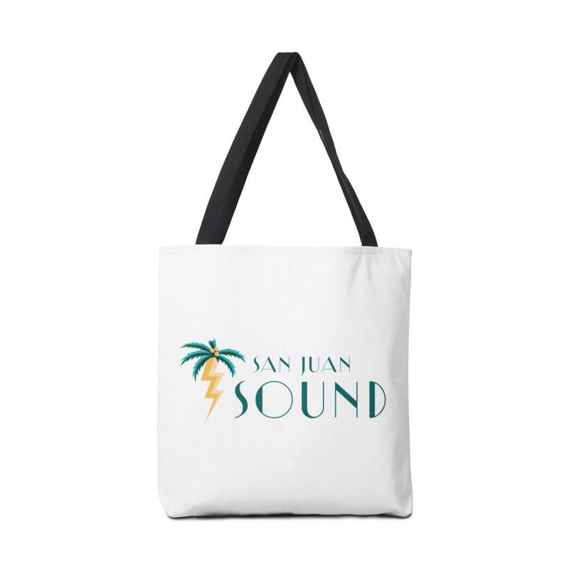 San Juan Sound Logo Accessories Bag by San Juan Sound's Shop