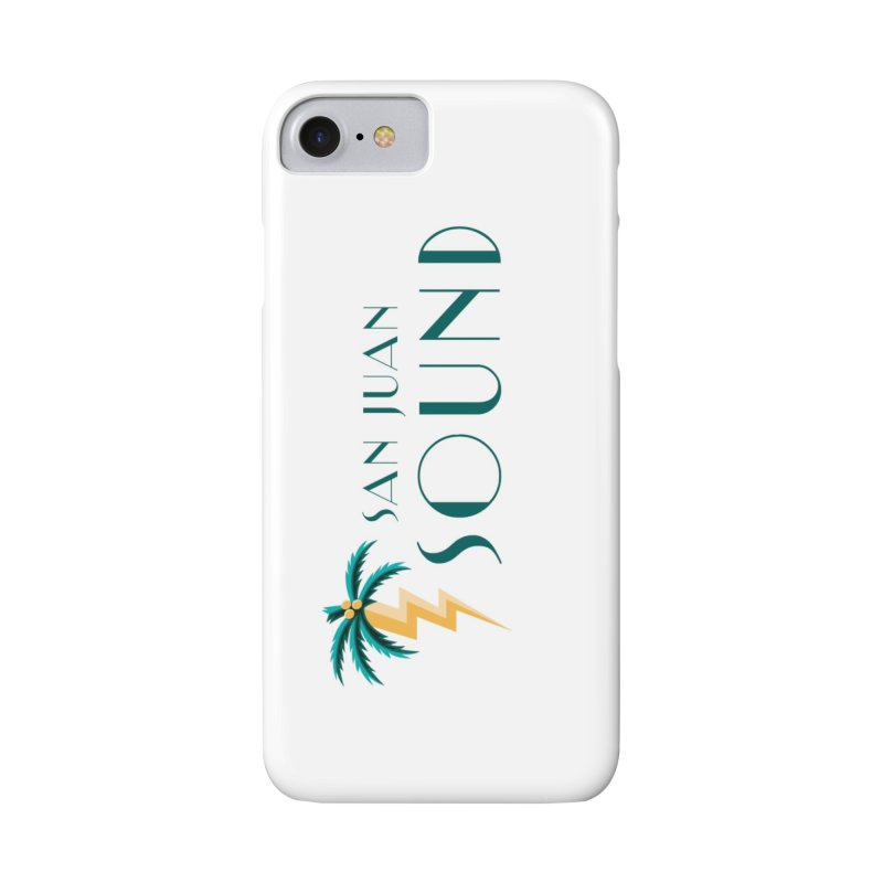 San Juan Sound Logo Accessories Phone Case by San Juan Sound's Shop