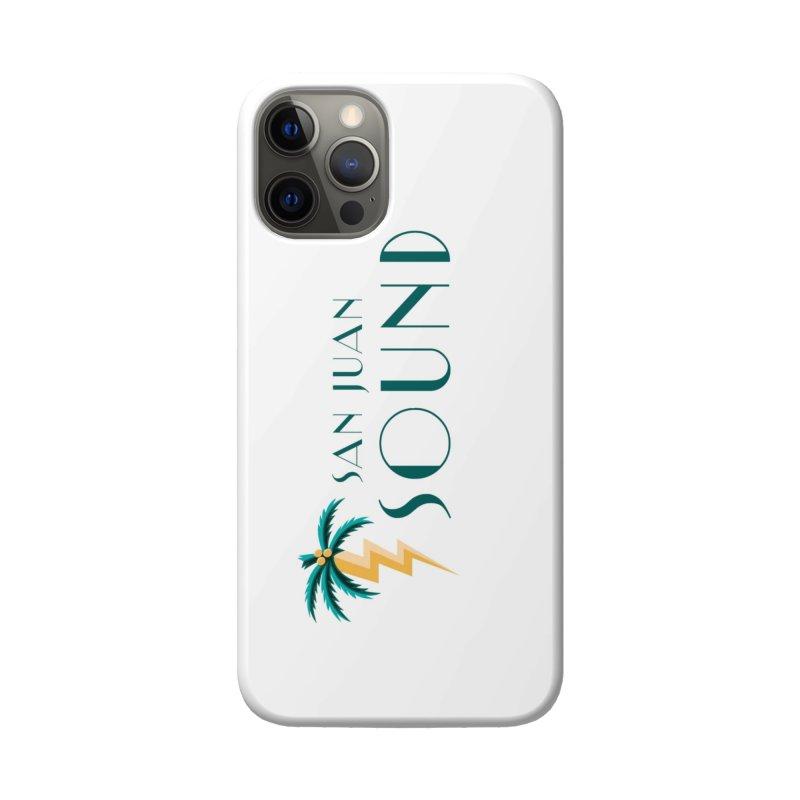 San Juan Sound Logo Accessories Phone Case by San Juan Sound's Shop