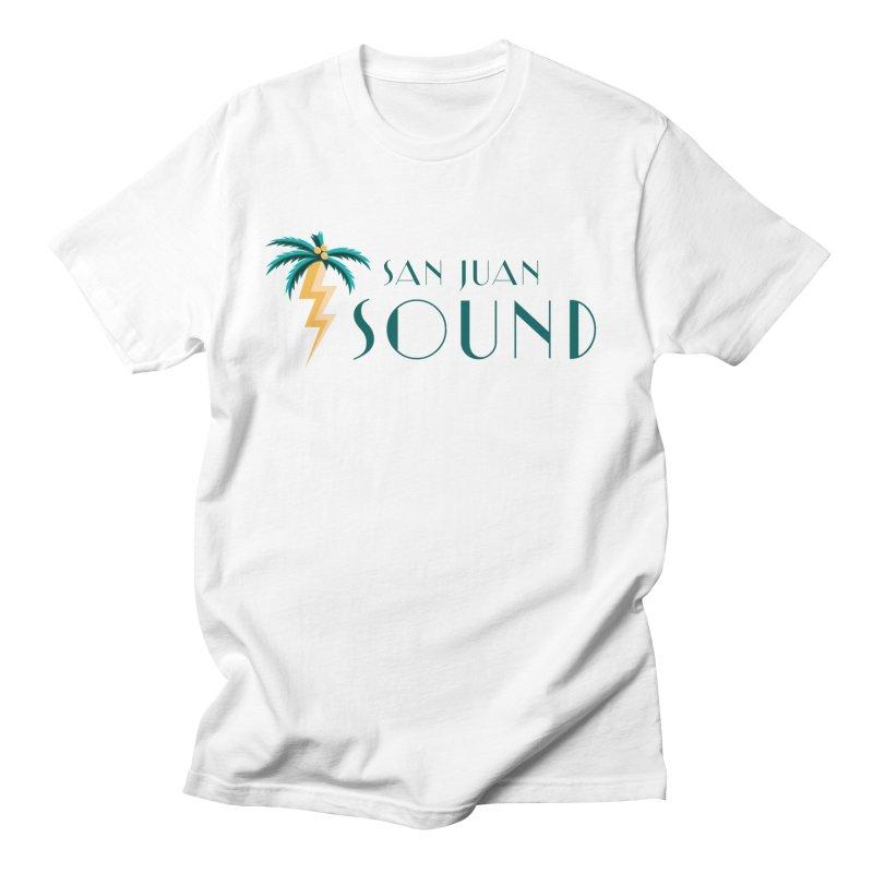 San Juan Sound Logo Men's T-Shirt by San Juan Sound's Shop