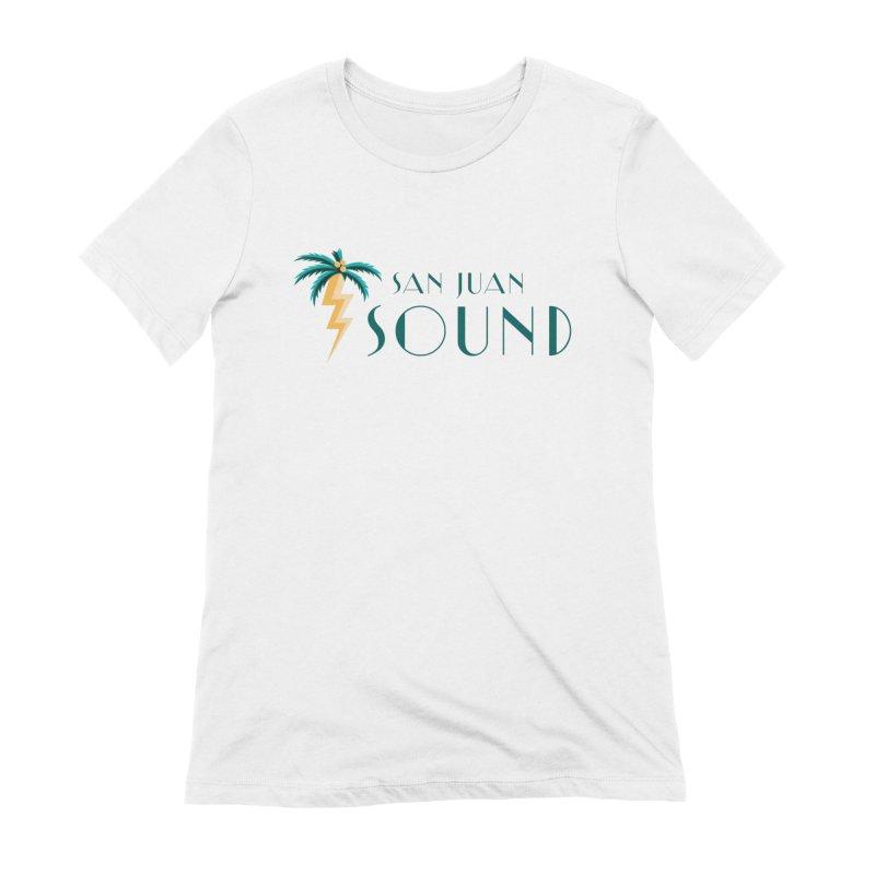 San Juan Sound Logo Women's T-Shirt by San Juan Sound's Shop