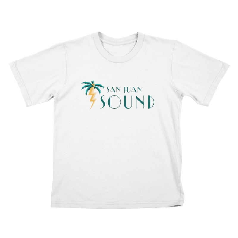 San Juan Sound Logo Kids T-Shirt by San Juan Sound's Shop