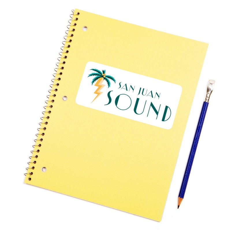San Juan Sound Logo Accessories Sticker by San Juan Sound's Shop