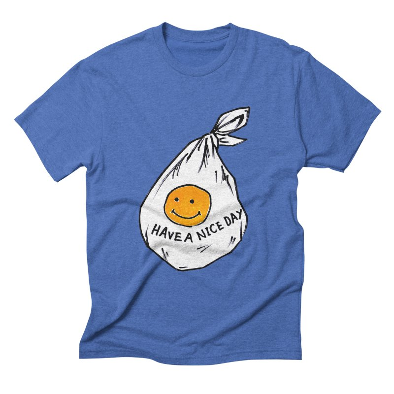 smily bag Men's T-Shirt by sanpo's Artist Shop