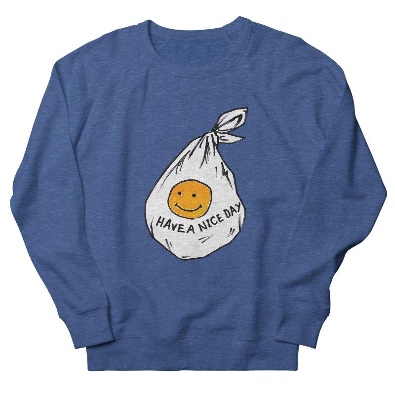smily bag Men's Sweatshirt by sanpo's Artist Shop