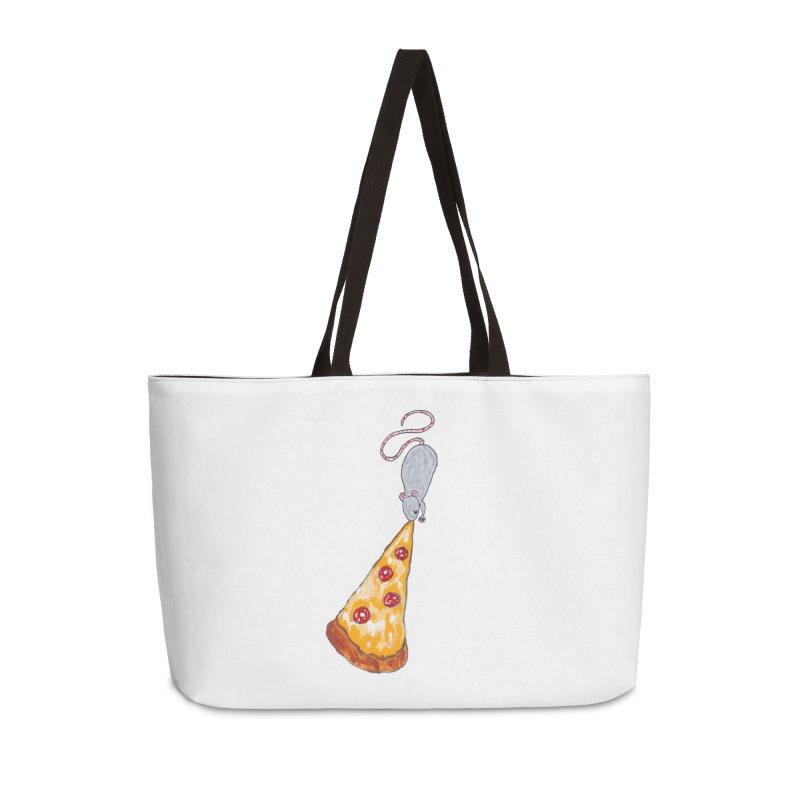 Pizza Rat Accessories Bag by sanpo's Artist Shop
