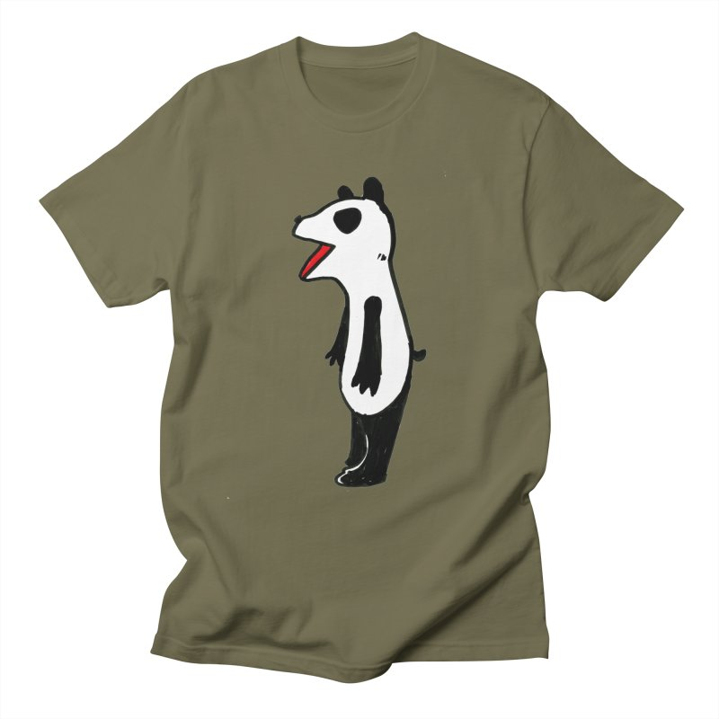 absorbed panda Men's T-Shirt by sanpo's Artist Shop