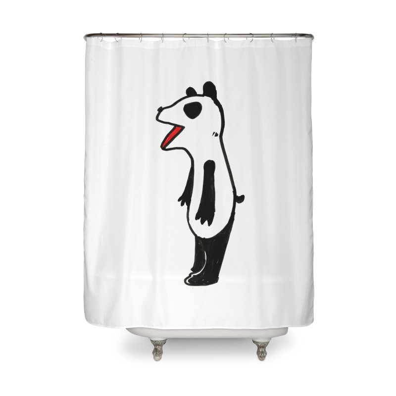 absorbed panda Home Shower Curtain by sanpo's Artist Shop