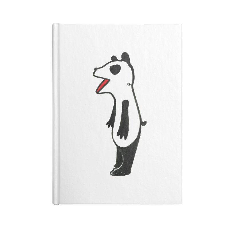 absorbed panda Accessories Notebook by sanpo's Artist Shop